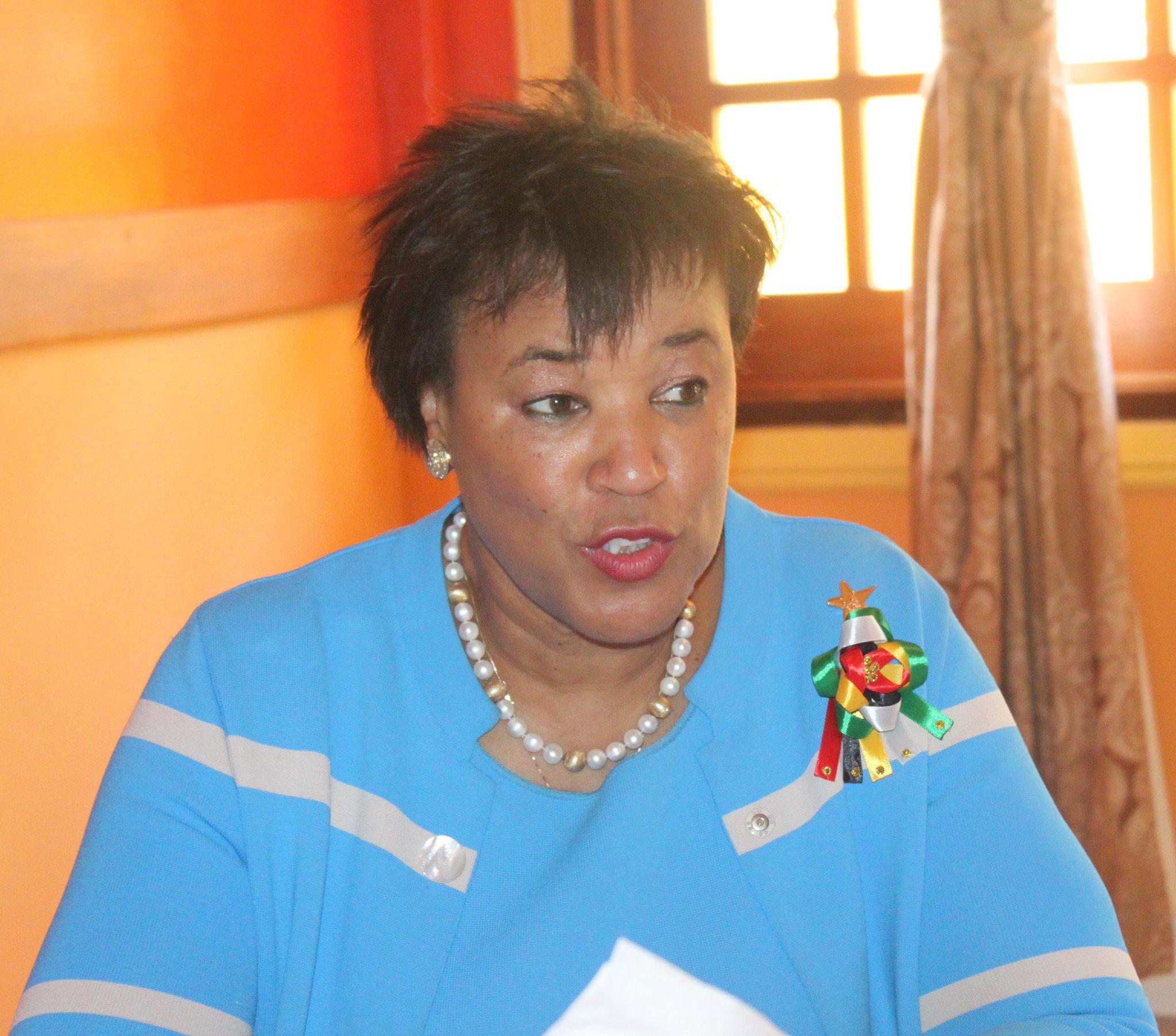 Commonwealth Secretary-General, Baroness Patricia Scotland