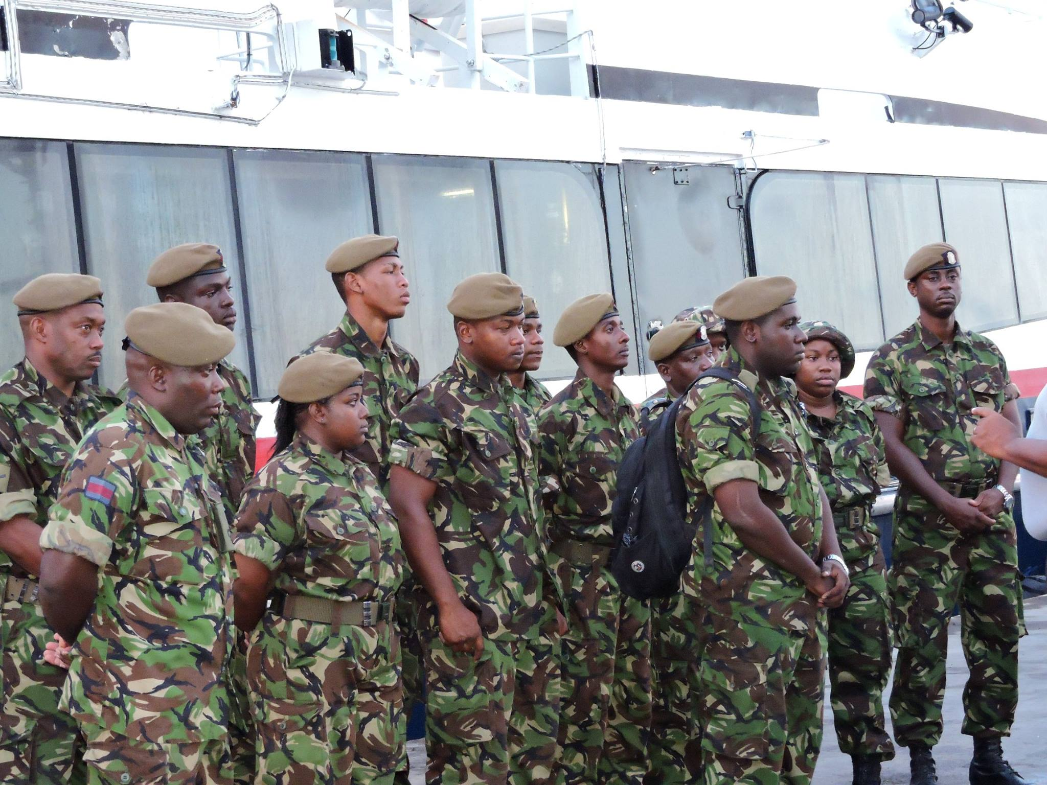 Montserrat sends Defence Force contingent to Dominica ...