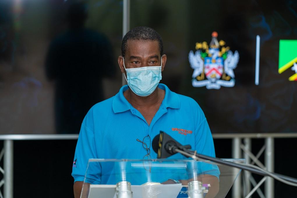 SKN Director of Agriculture Mr. Melvin James (SKNIS)